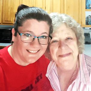 12 Karis Mom first selfie