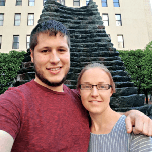 Melanie and Darrin in Pittsburgh