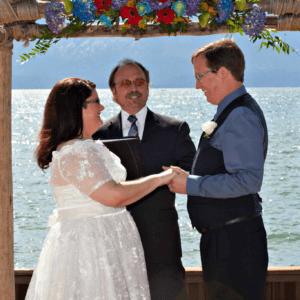 What led us to adoption wedding photo