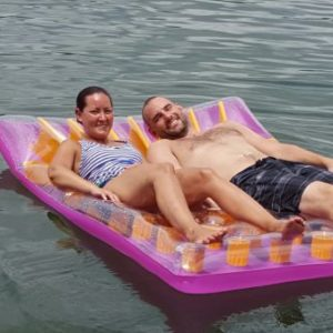 floating on smith mountain lake virginia