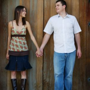 getting to know us engagement photo
