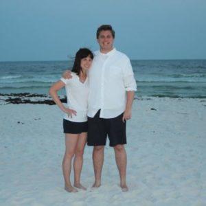 jon and andrea beach 1