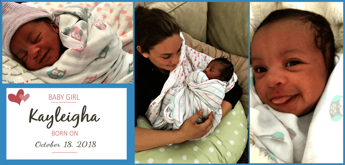 New Birth Announcement – Congratulations to Maurisa & Glenn