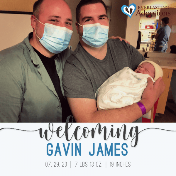 New Birth Announcement - Andrew & Dalton