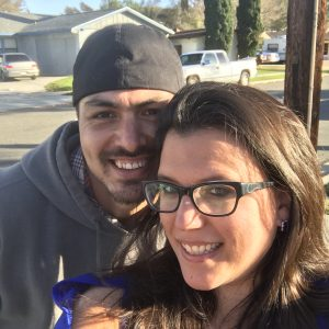 Michelle & Jesse in California